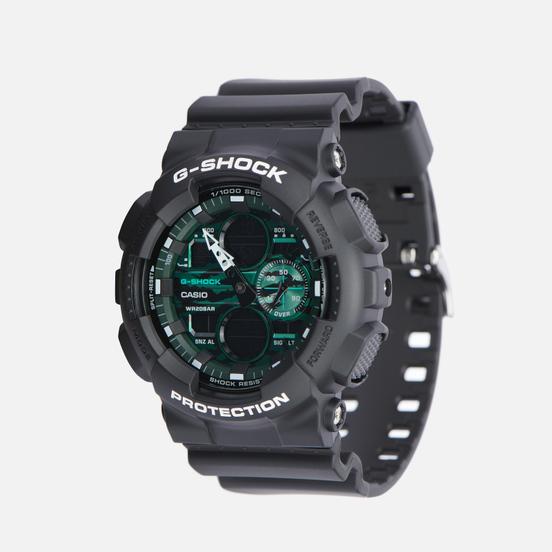 Наручные часы CASIO G-SHOCK GA-140MG-1AER Black/Black/Midnight Green