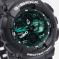 Наручные часы CASIO G-SHOCK GA-140MG-1AER Black/Black/Midnight Green фото - 2