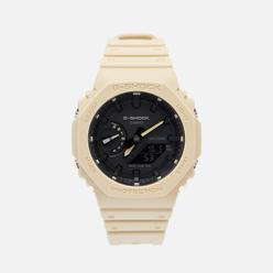 Наручные часы CASIO G-SHOCK GA-2100-5AER Octagon Series Beige/Beige/Black