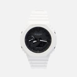 Наручные часы CASIO G-SHOCK GA-2100-7AER Octagon Series White/White/Black