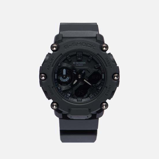 Наручные часы CASIO G-SHOCK GA-2200BB-1AER Carbon Core Guard Black/Black