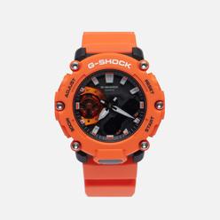 Наручные часы CASIO G-SHOCK GA-2200M-4AER Carbon Core Guard Orange/Black
