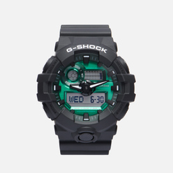 Наручные часы CASIO G-SHOCK GA-700MG-1AER Black/Black/Midnight Green