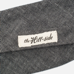 Галстук-бабочка The Hill-Side Selvedge Chambray Black фото- 2