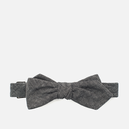 The Hill-Side Selvedge Chambray Men's Bow Tie Black