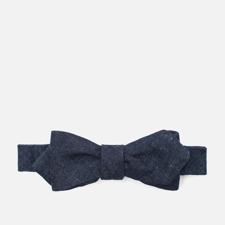 The Hill-Side Lightweight Weft-Slub Men's Tie Denim Indigo