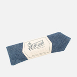 The Hill-Side Selvedge Chambray Men's Bow Tie Indigo photo- 3