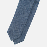 The Hill-Side Selvedge Chambray Men's Bow Tie Indigo photo- 1