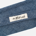 The Hill-Side Selvedge Chambray Men's Bow Tie Indigo photo- 2