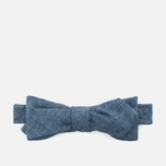 The Hill-Side Selvedge Chambray Men's Bow Tie Indigo photo- 0