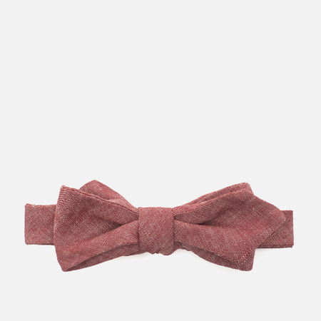 The Hill-Side Selvedge Men's Tie Chambray Red