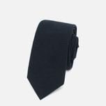 Мужской галстук Nanamica Stripe Pique Navy фото- 0