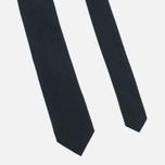 Мужской галстук Nanamica Stripe Pique Navy фото- 1