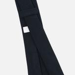 Мужской галстук Nanamica Stripe Pique Navy фото- 2
