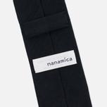 Мужской галстук Nanamica Stripe Pique Navy фото- 3
