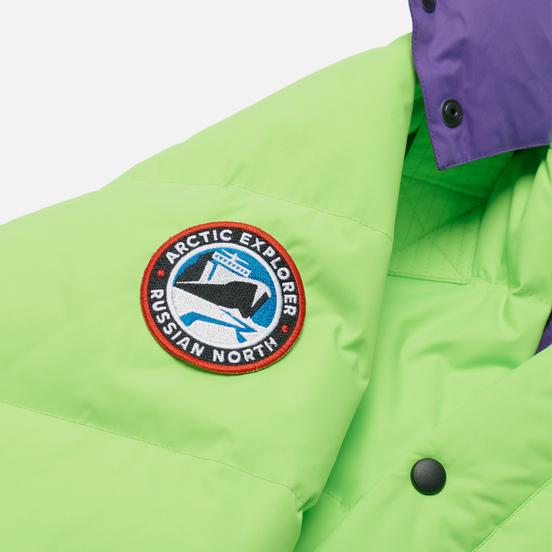 Женский пуховик Arctic Explorer Gaz Green