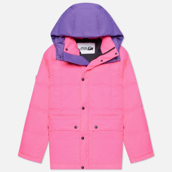 Женский пуховик Arctic Explorer Gaz Pink