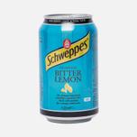 Газированная вода Schweppes Bitter Lemon 0.35l фото- 0