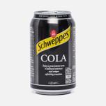Газированная вода Schweppes Cola 0.35l фото- 0