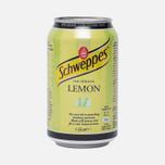 Газированная вода Schweppes Lemon 0.35l фото- 0