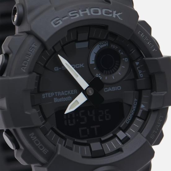 Наручные часы CASIO G-SHOCK GBA-800-1A G-SQUAD Series Black/Black