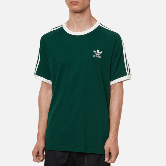 Мужская футболка adidas Originals 3-Stripes Dark Green