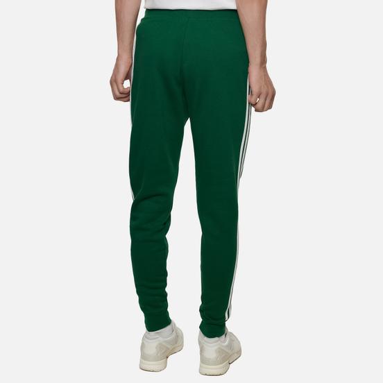 Мужские брюки adidas Originals 3-Stripes Fleece Dark Green