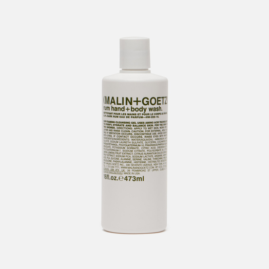 Гель-мыло Malin+Goetz Hand And Body Rum 473ml