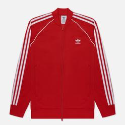 Мужская олимпийка adidas Originals Adicolor Classics Primeblue SST Scarlet/White