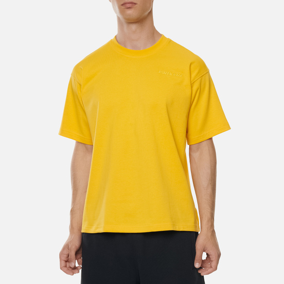 Мужская футболка adidas Originals x Pharrell Williams Basics Bold Gold