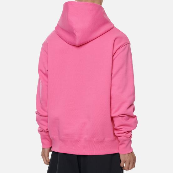 Мужская толстовка adidas Originals x Pharrell Williams Basics Hoodie Semi Solar Pink