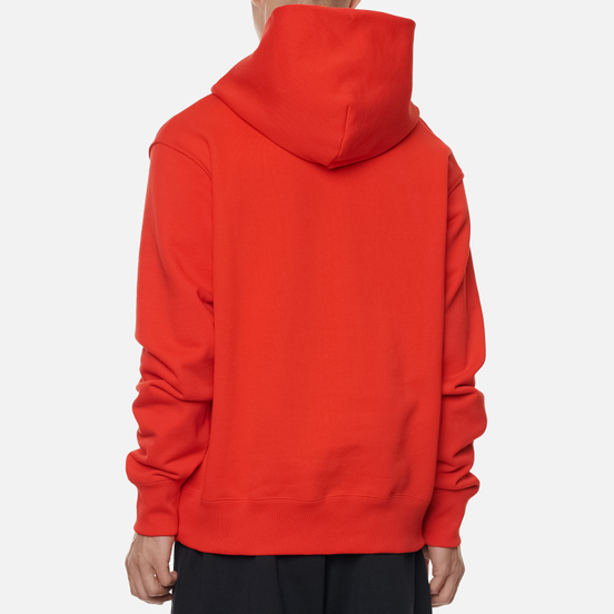 Мужская толстовка adidas Originals x Pharrell Williams Basics Hoodie Active Red