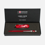 Подарочный набор Caran d'Ache x Wenger Swiss Evolution Small Red фото- 0