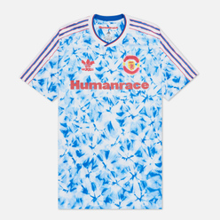 Мужская футболка adidas Performance x Human Race Manchester United Jersey White/Bold Blue