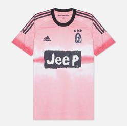 Мужская футболка adidas Performance x Human Race Juventus Jersey Glow Pink/Black