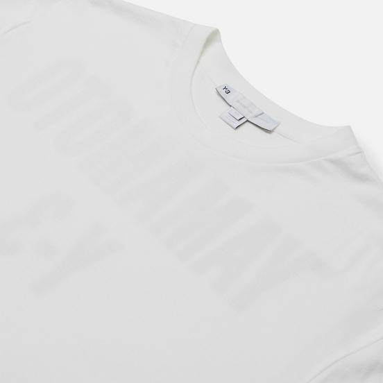 Мужской лонгслив Y-3 Chapter 2 GFX Off White/Black