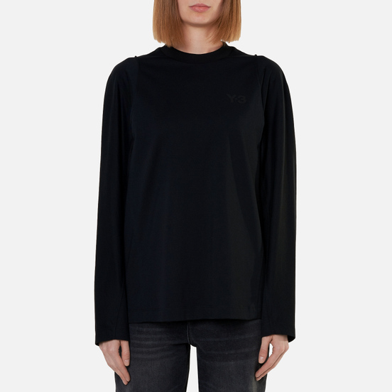 Женский лонгслив Y-3 Classic Tailored Black