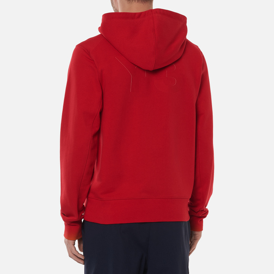 Мужская толстовка Y-3 Classic Back Logo Full Zip-Hoodie Scarlet