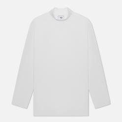 Мужской лонгслив Y-3 Classic Mock Neck Core White
