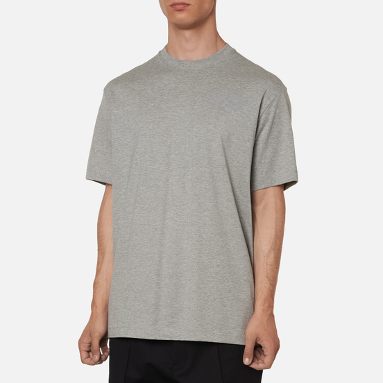 Мужская футболка Y-3 Classic Chest Logo Y-3 Medium Grey Heather