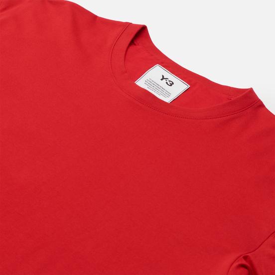 Мужская футболка Y-3 Classic Back Logo Y-3 Scarlet