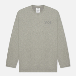 Мужской лонгслив Y-3 Classic Chest Logo Y-3 Medium Grey Heather