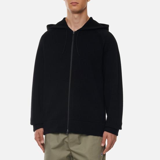Мужской свитер Y-3 Classic Winter Knit Hooded Full-Zip Black