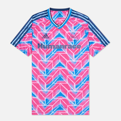Мужская футболка adidas Performance x Human Race Jersey Real Magenta/True Blue