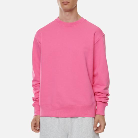 Мужская толстовка adidas Originals x Pharrell Williams Basics Crew Semi Solar Pink