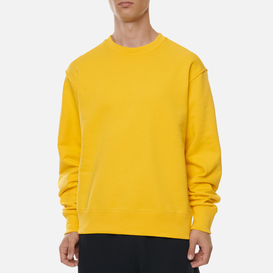 Мужская толстовка adidas Originals x Pharrell Williams Basics Crew Bold Gold