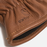 Мужские перчатки Carhartt WIP Lined Leather Brown фото- 1