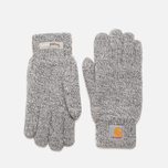 Мужские перчатки Carhartt WIP Scott Dark Grey Heathet/White фото- 0