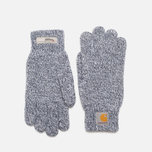 Carhartt WIP Scott Gloves Jet/White photo- 0