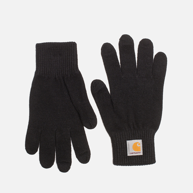 Мужские перчатки Carhartt WIP Touch Screen Black